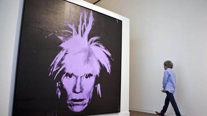 Kunstauktion: Warhol-Porträt zum doppelten Schätzpreis verkauft