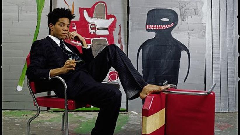 Ausstellung Jean-Michel Basquiat: Ein rron, ein aa, ein rrr