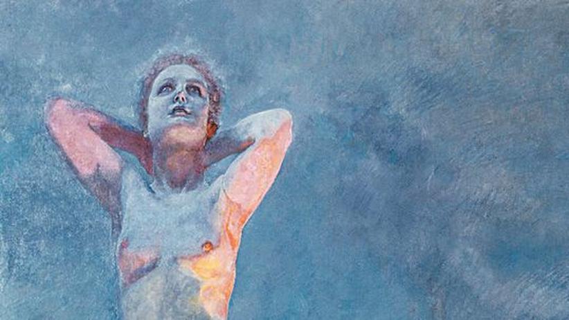 """Museum der bildenden Künste Leipzig: Max Klingers """"Die Blaue Stunde"""" von 1890. Die naturalistischen und symbolistischen Einflüsse Klingers, vor allem aber sein Einfluss auf die Surrealisten, werden bis heute oft ausgeklammert"""