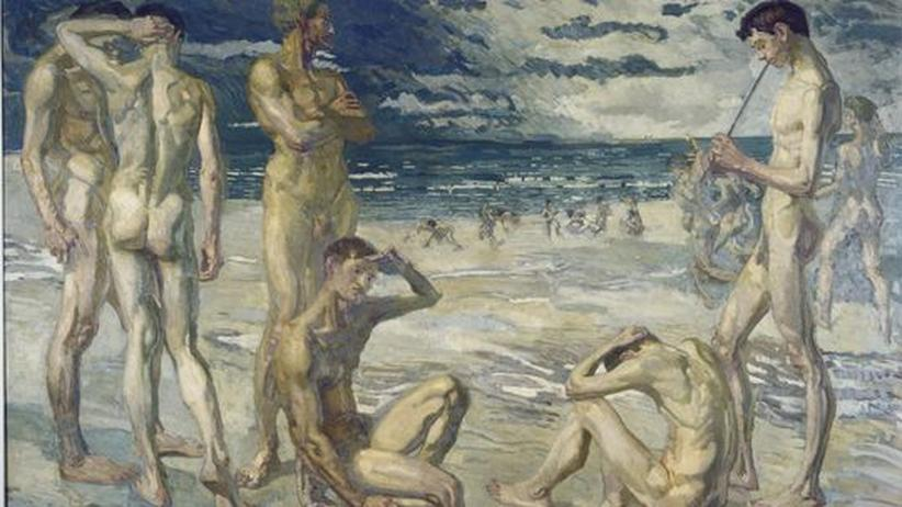 """Schlossmuseum Weimar: Max Beckmann """"Junge Männer am Meer"""" (1905)"""