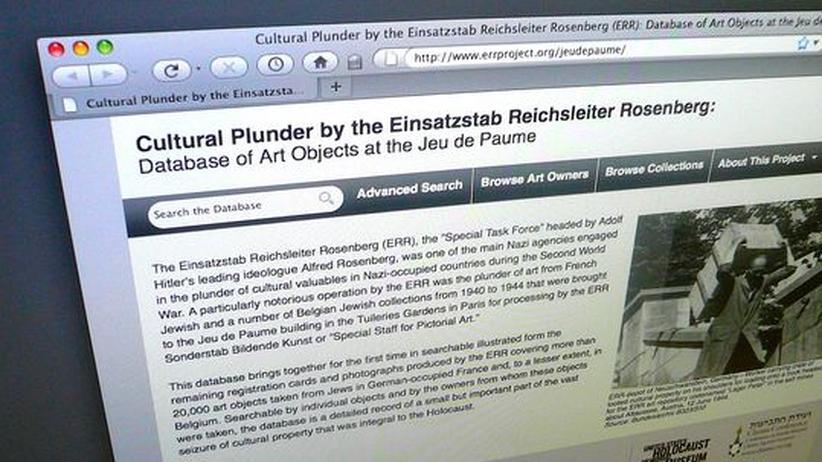 NS-Raubkunst: Historiker fahnden im Internet nach NS-Beutekunst