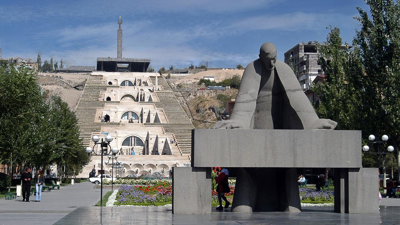 Armenien Der Museumsbau Zu Eriwan Zeit Online