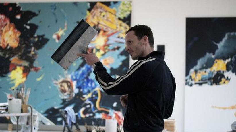 """Maler Norbert Bisky: """"Ich kam aus New York wieder und war immer noch der Ossi"""""""