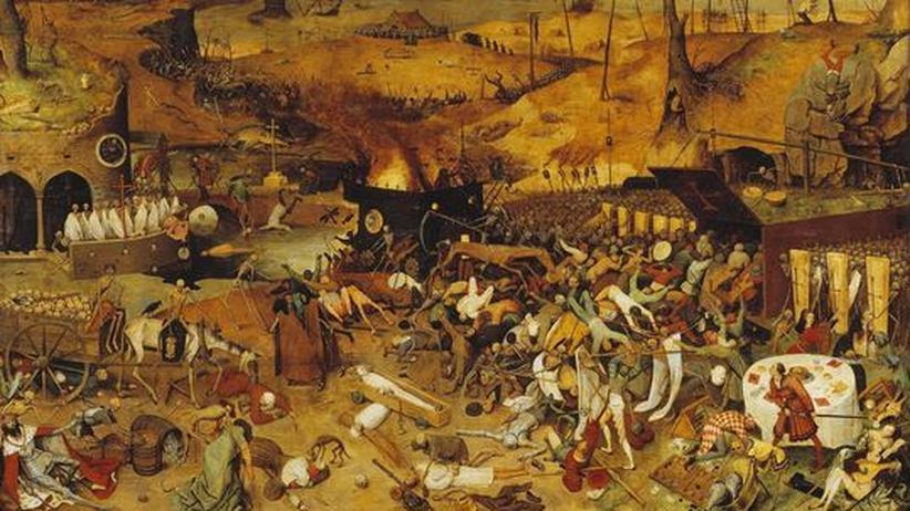 """Apokalypse: """"Triumph des Todes"""" von Pieter Bruegel dem Älteren um 1525/1530"""
