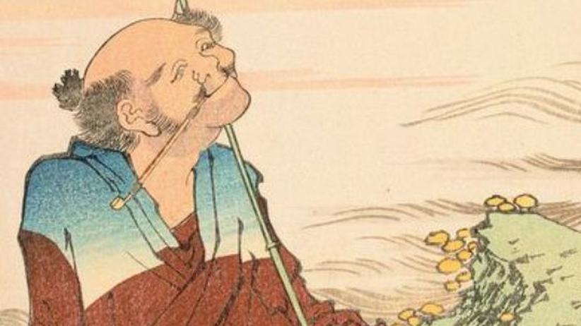 Hokusai-Ausstellung: Der alte Mann und das Lächeln