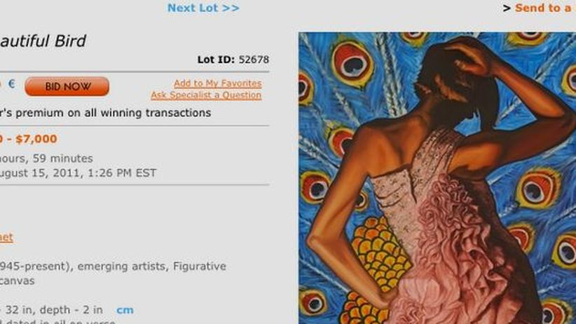 "Kunstmarkt: Versteigerung auf Artnet.com: ""A Beautiful Bird"" von Ben Ferry"