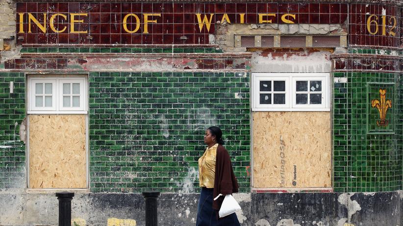 Künstler in London: Stille nach dem Sturm