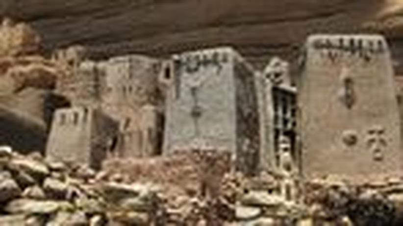 Mali-Ausstellung: Die Kunst entsteht im Alltag