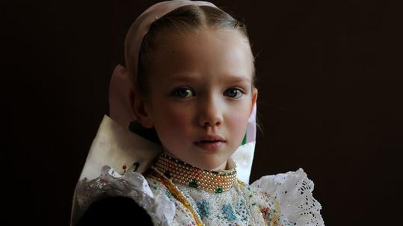Fotografie: Die kindlichen Königinnen