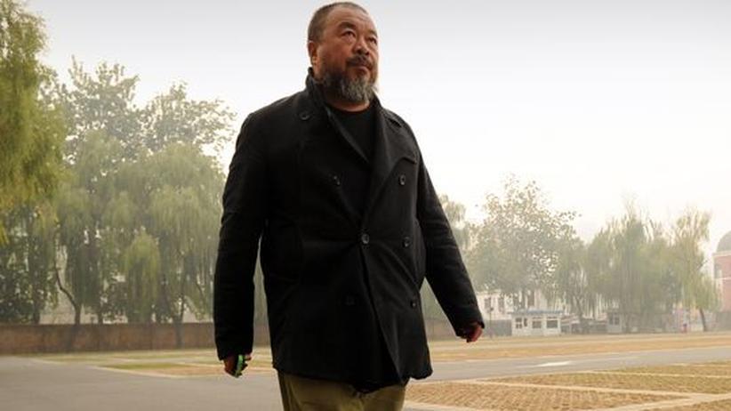 Der Künstler in Peking