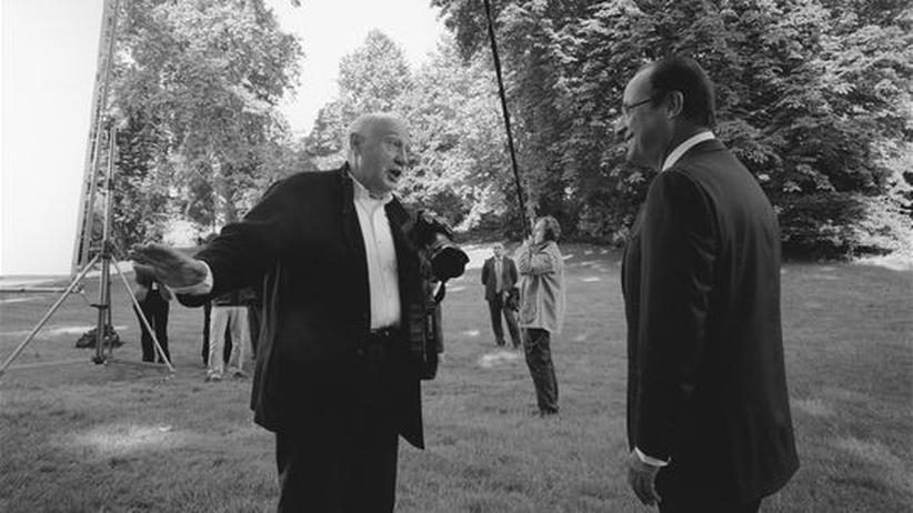 François Hollande : Eine ganz normale Fotografie