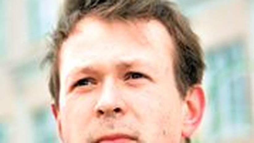 """Pawel Gudjanow will die Leninstraße von """"Ungetümen"""" befreien."""