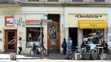 Straßenszene in Berlin-Kreuzberg