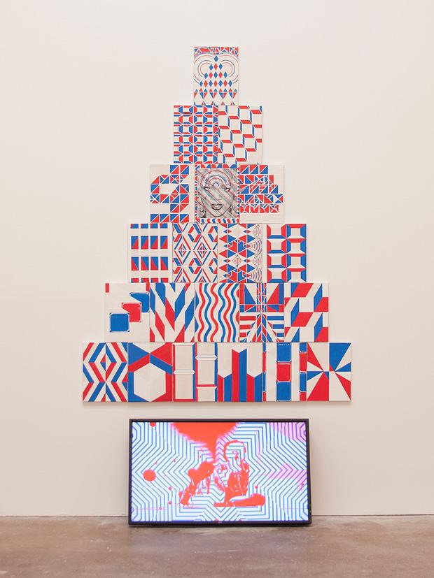 "Ramon Silva: ""Pyramid Stack #1, RiRi"", 2012"
