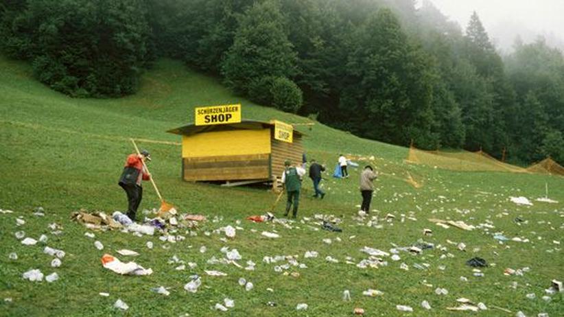 Alpen: Hinter den Postkarten