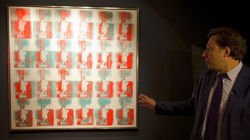 Auktion: Christie's versteigert Warhol-Bild für 34 Millionen Euro