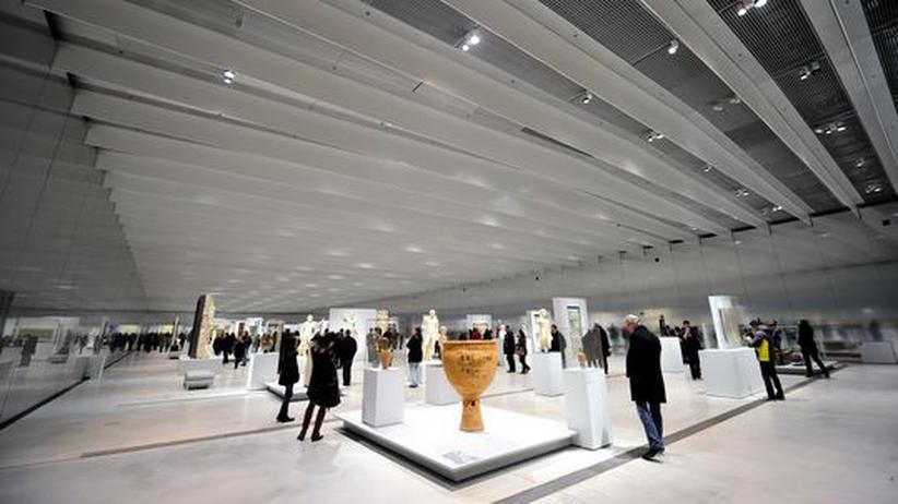 Louvre in Lens: Hier beginnt die Zeit zu strudeln
