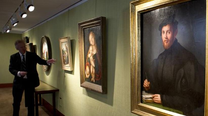 New Yorker Kunstauktion: Anbetung der Alten