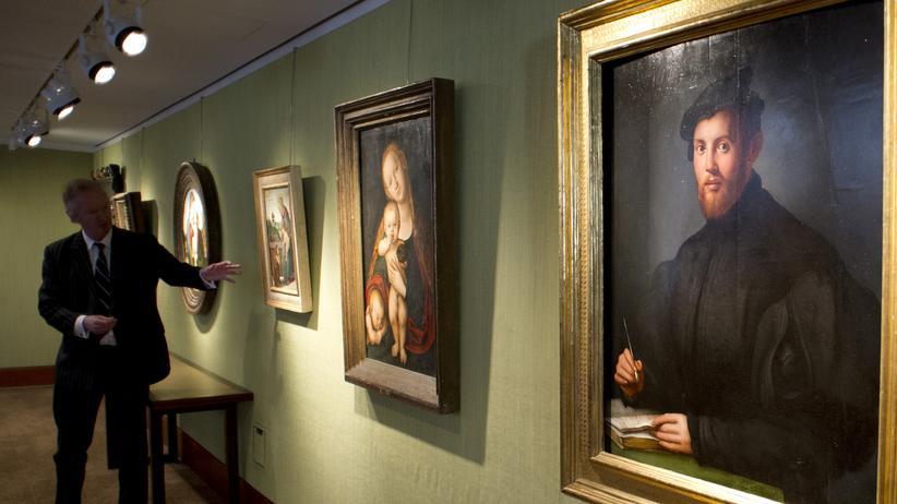New Yorker Kunstauktion: Anbetung der Alten Meister