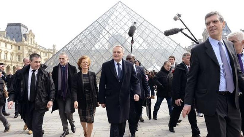Louvre: Auf dem Sonderweg