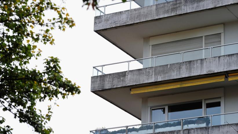 Das Haus in München, in dem sich die Wohnung Gurlitts befindet