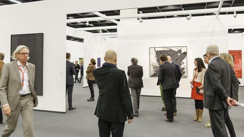 Art Cologne: Kunstinteressierte auf der Art Cologne