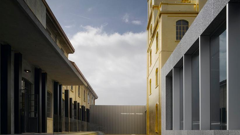 Kunst in Mailand: Das neue Gebäude der Fondazione Prada in Mailand, fotografiert von Bas Princen