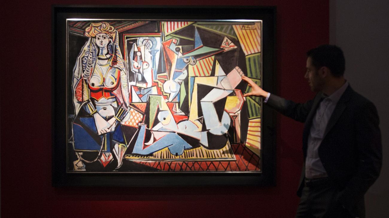 New york picasso bild stellt auktionsrekord auf zeit online - Acheter tableau pas cher ...