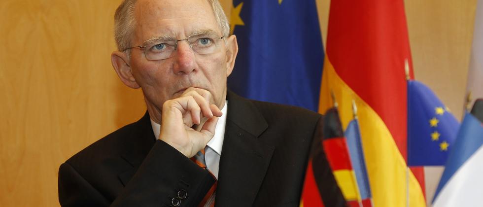 Bundesfinanzminister Dr. Wolfgang Schäuble (CDU)
