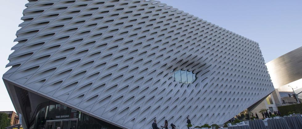 """The Broad"" in Los Angeles"