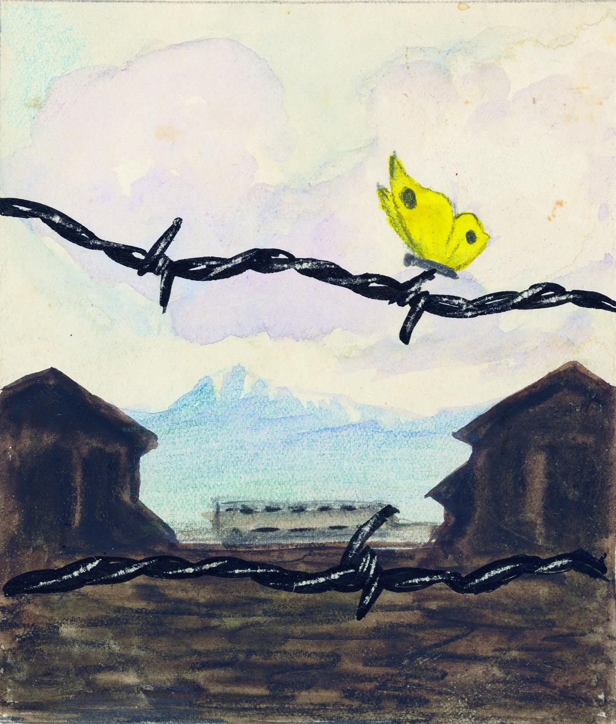 "Holocaust-Ausstellung: Karl Robert Bodek/Kurt Conrad Löw: ""Ein Frühling"", 1941"