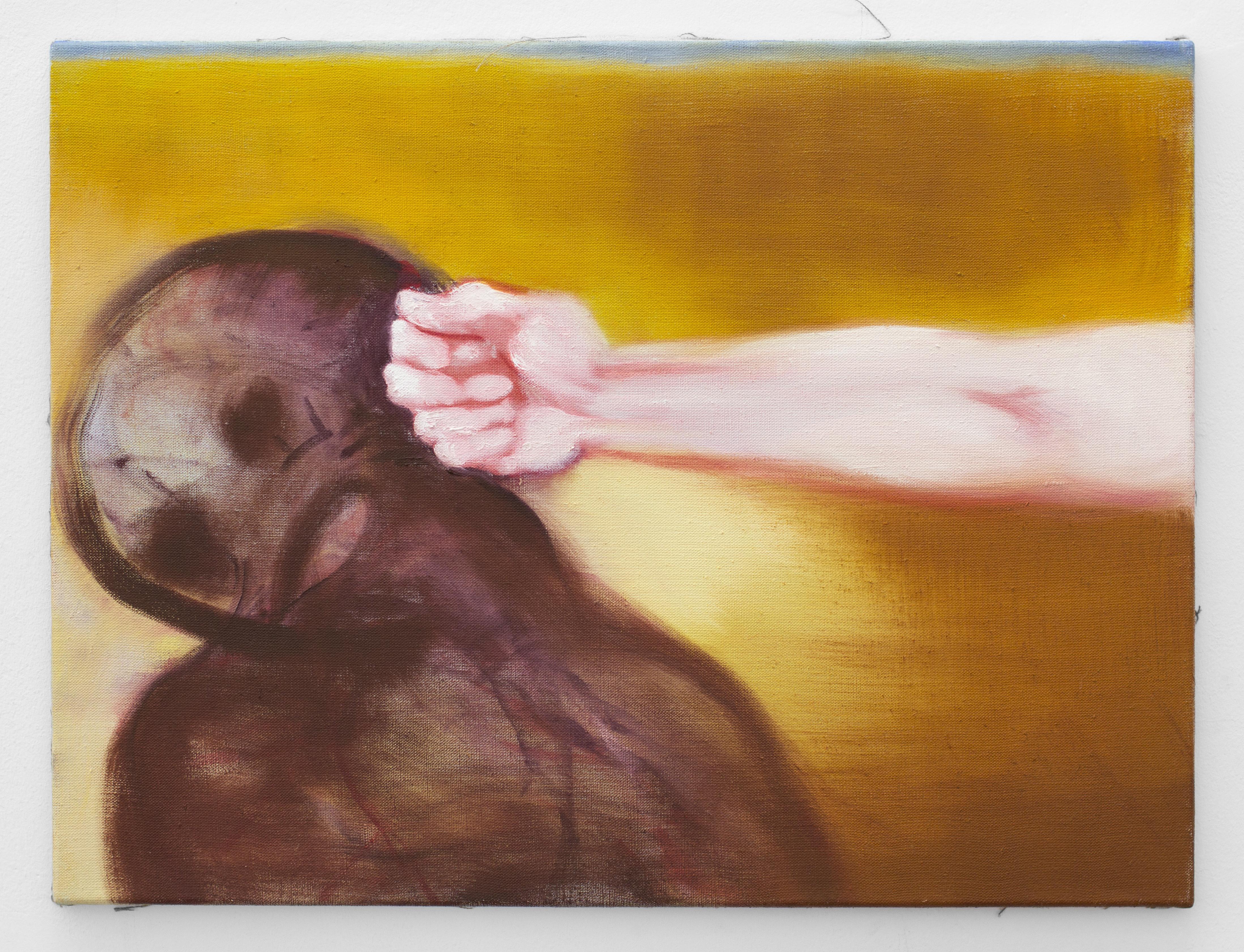 """Gallery Weekend: Zwischen zart und hart schwebt die Kunst von Miriam Cahn. Mit Werken wie """"aus der wüste"""" ist die Schweizer Künstlerin in der Galerie Meyer Riegger (9) zu sehen."""
