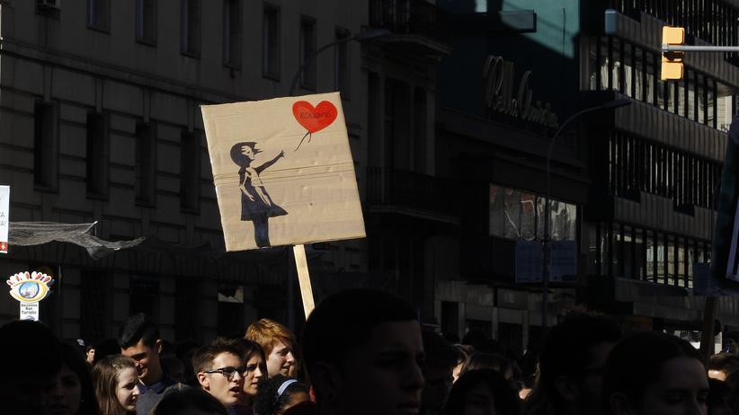 Street-Art: Kunst im Angebot, handzahm und nett
