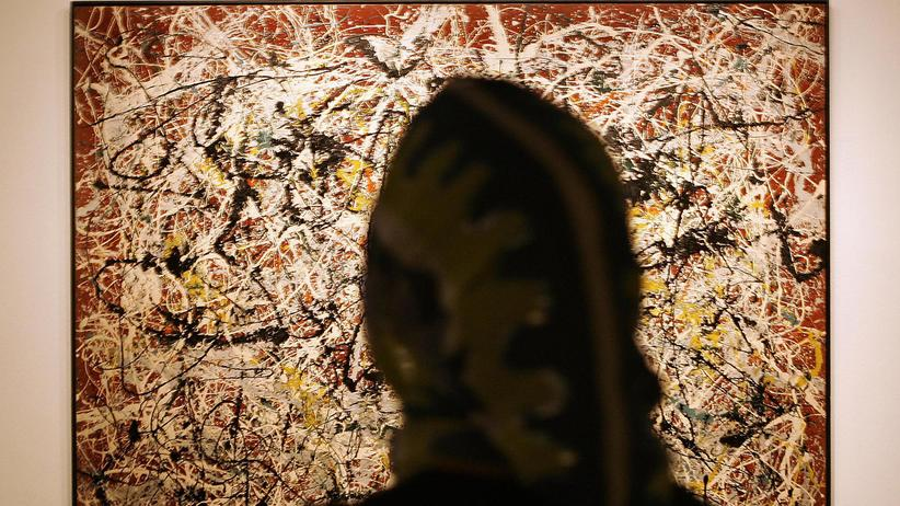 """Moderne Kunst: Jackson Pollocks """"Mural on Indian Red Ground"""" von 1950 gilt als eines der wichtigsten Werke des abstrakten Expressionismus. Im Dezember reist es von Teheran nach Berlin."""