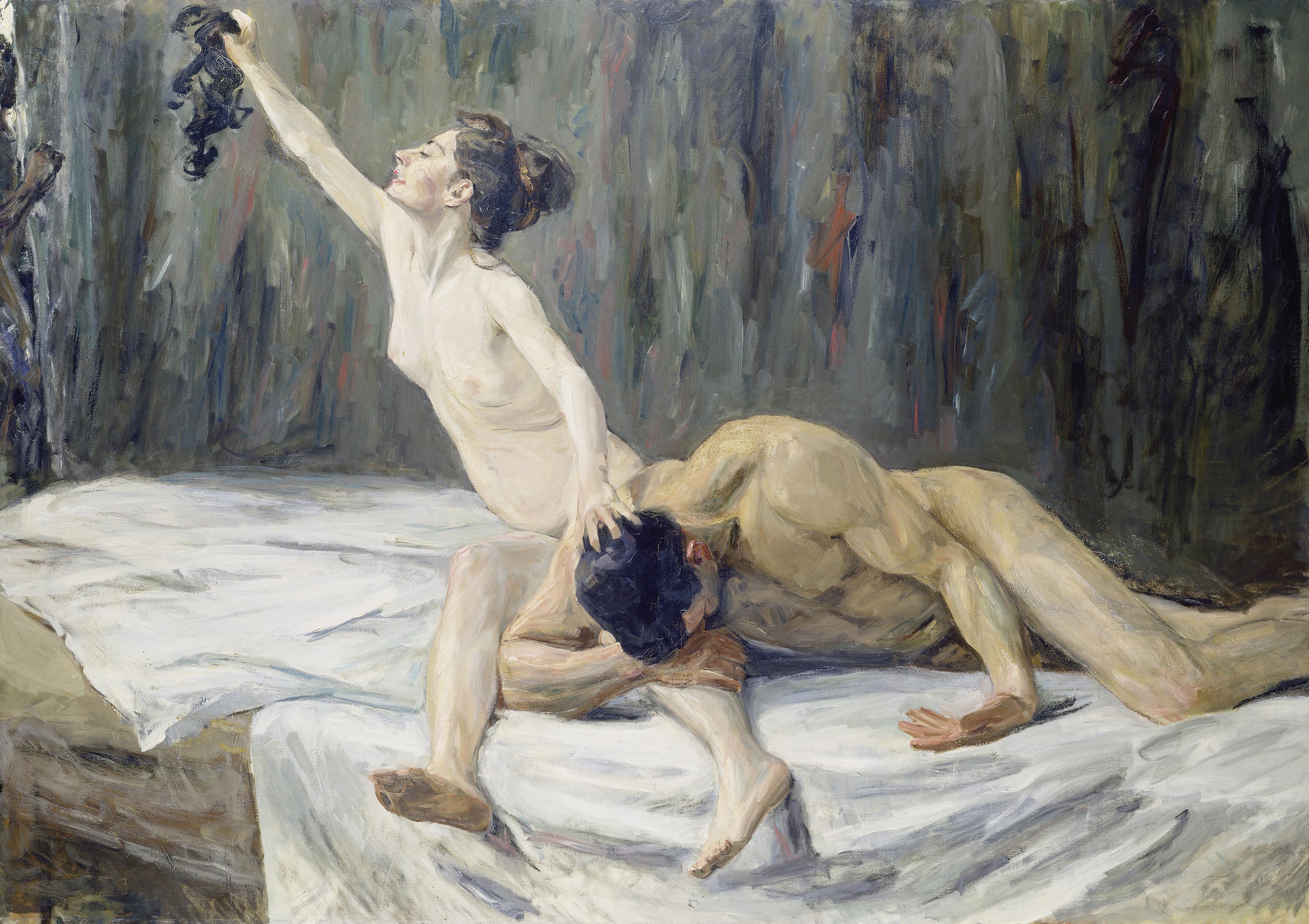 """""""Geschlechterkampf!"""": Max Liebermann, """"Simson und Delila"""", 1902"""