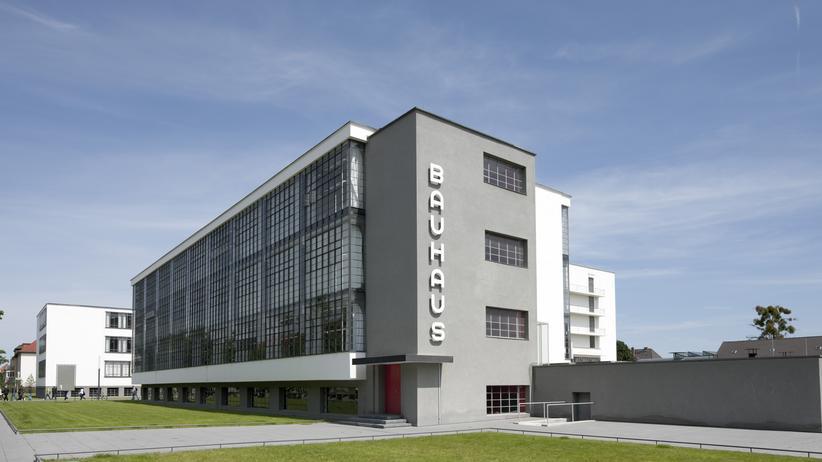 Architektur: Bauhausgebäude Dessau, Walter Gropius (1925–26), Südseite
