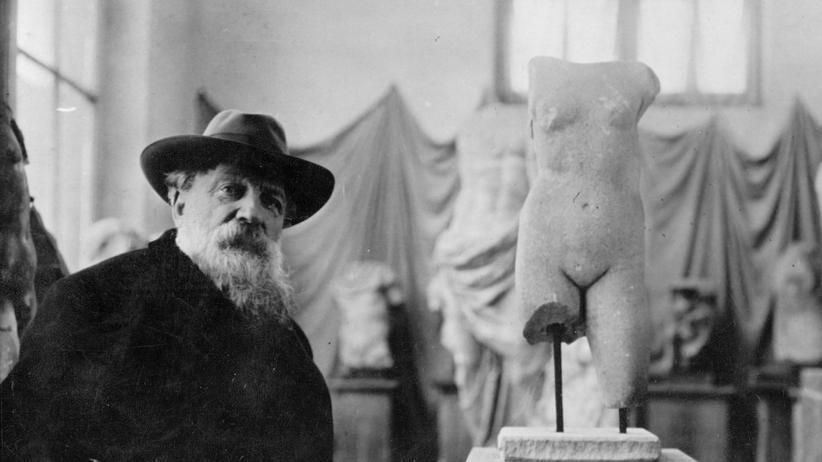 Auguste Rodin: Außen nackt, innen auch