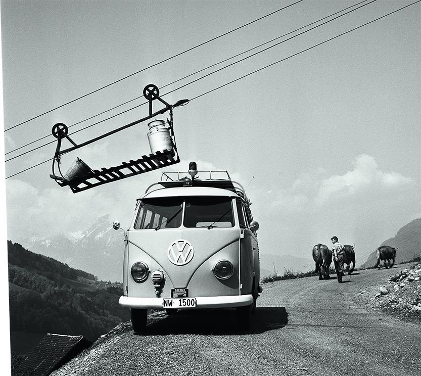 """Moderner Klassiker der Fotografie: Arnold Odermatt, (""""Büren. Oberdorf, 1966"""")"""