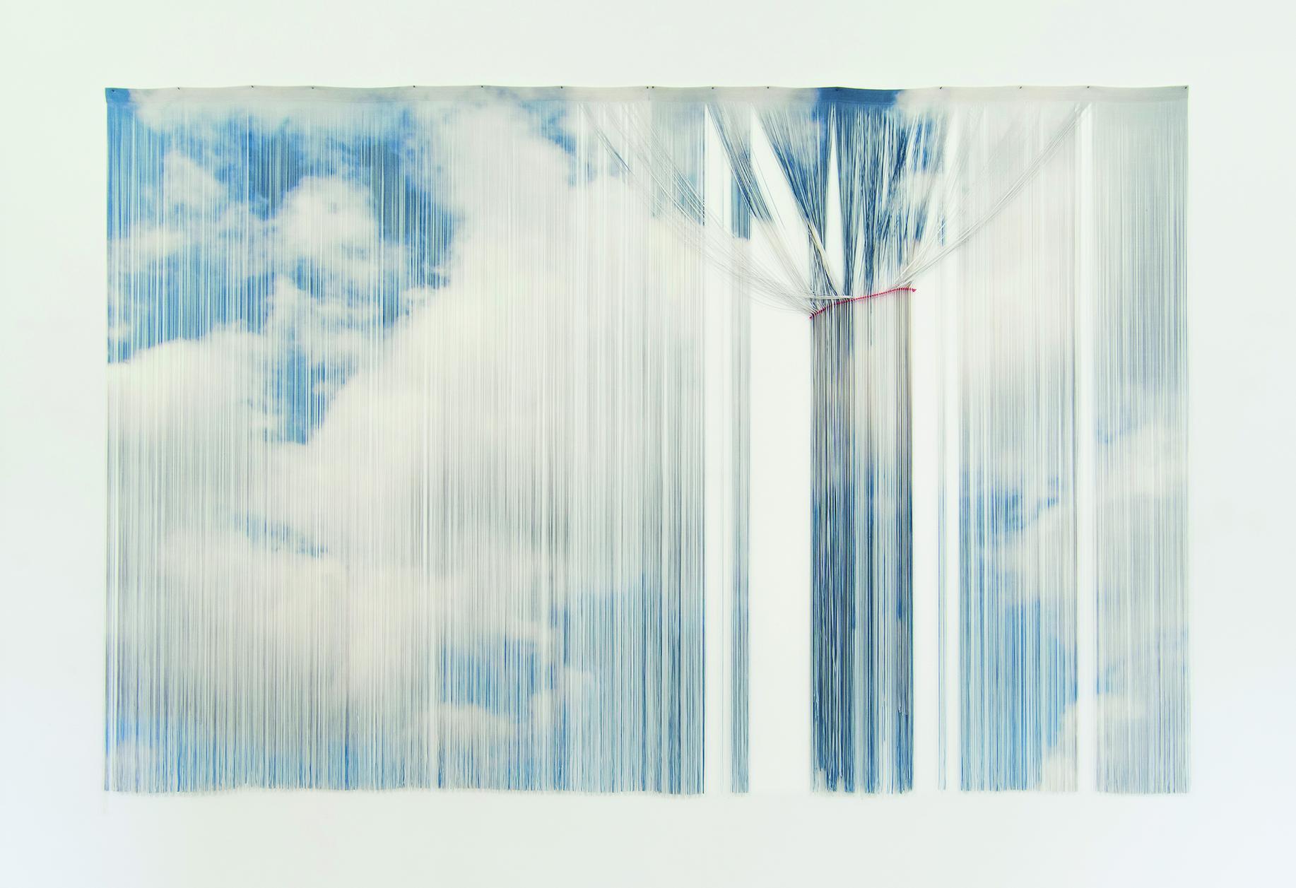 """Die Haverkampf Gallery hat erst kürzlich eröffnet und zeigt unter anderem Anna Grath (""""Kumulus virga"""", 2014)"""