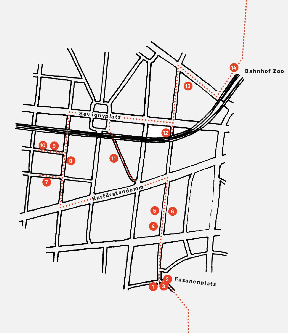 Map Charlottenburg