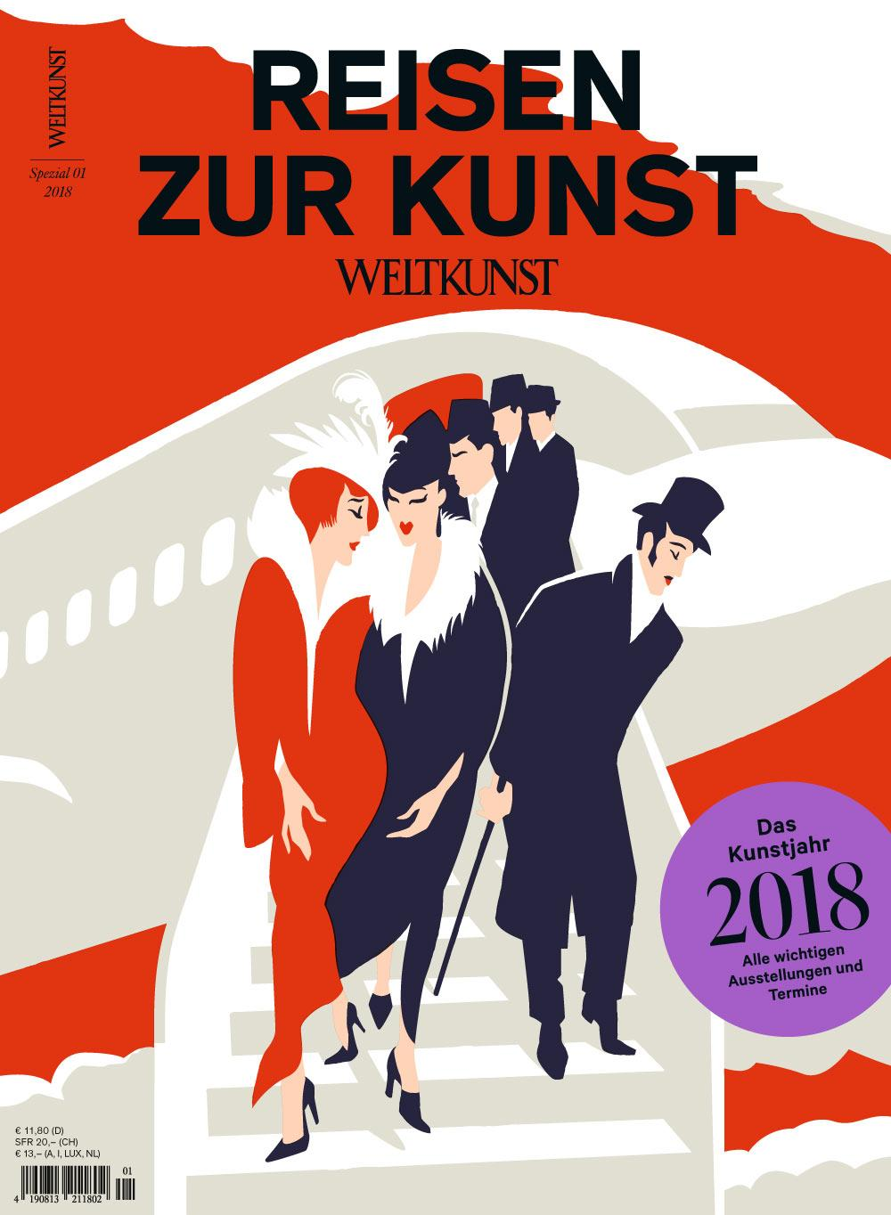 Weltkunst Heft Nr. 1/2018