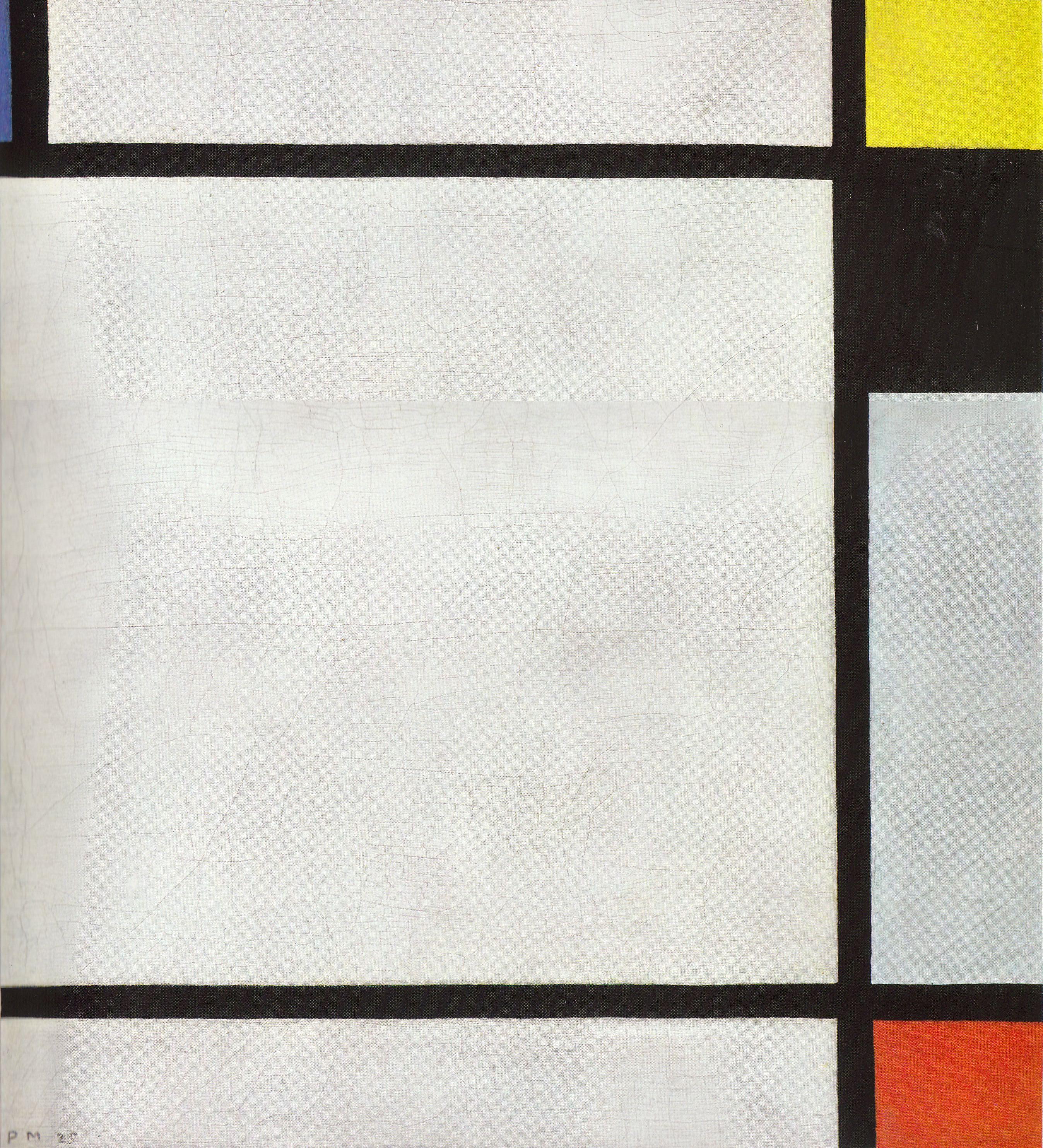 Piet Mondrian: Auch um dieses Tableau N VII von Piet Mondrian streiten sich das Krefelder Museum und die Erben.