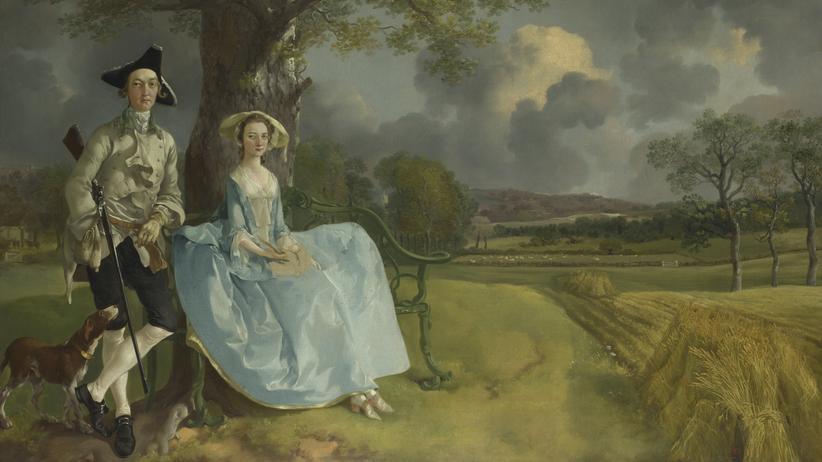 Thomas Gainsborough: Wolken, Wald und Silberhauch