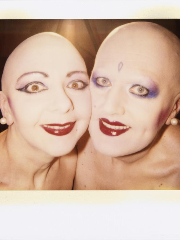 EVA & ADELE, AUTOPOLAROID, 28.08.1992, Berlin, 10,2 x 10,1 cm.