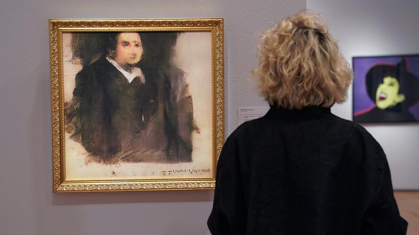 """Auktion: Das Werk """"Edmond de Belamy"""" der Pariser Studentengruppe Obvious"""