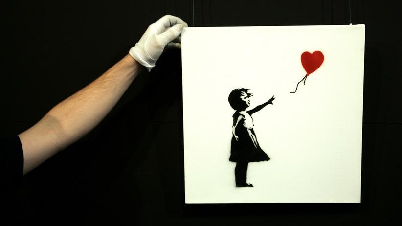 Banksy: Zum Ersten, zum Zweiten, zum Schredder