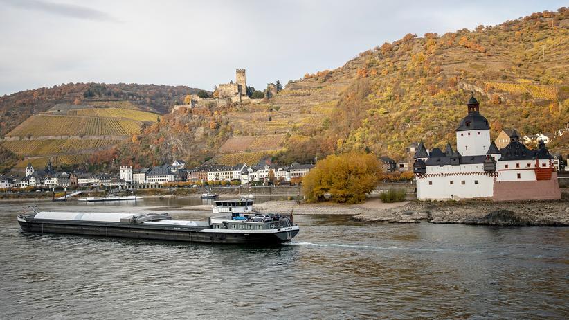 """Flüsse: """"Der Rhein ist wie eine Autobahn"""""""