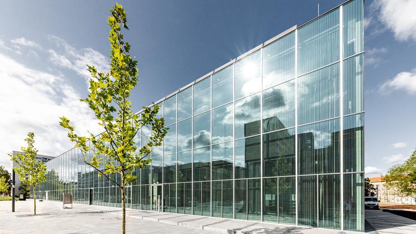 Bauhaus Museum Dessau: Im dunklen Schlauch