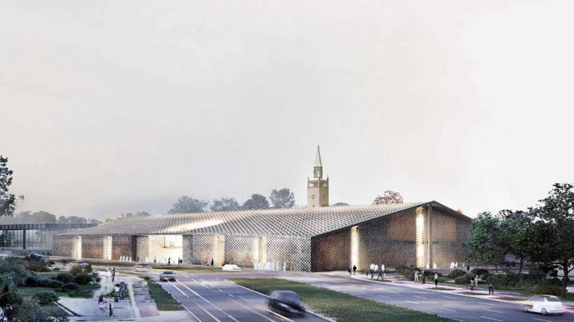 Museum der Moderne: So soll es aussehen, falls es denn wirklich so gebaut wird: das Museum für die Moderne des 20. Jahrhunderts, ein Entwurf des Architekturbüros Herzog & de Meuron