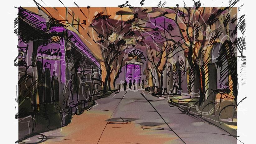 Syrien: Das Nikolaiviertel in Berlin und das Al Nofara Cafe in Damaskus